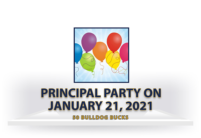 Principal Party on January 21, 2021